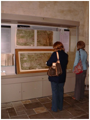Public display of the Gough Map